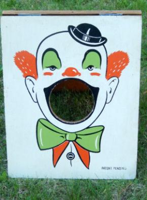 Clown Cornhole