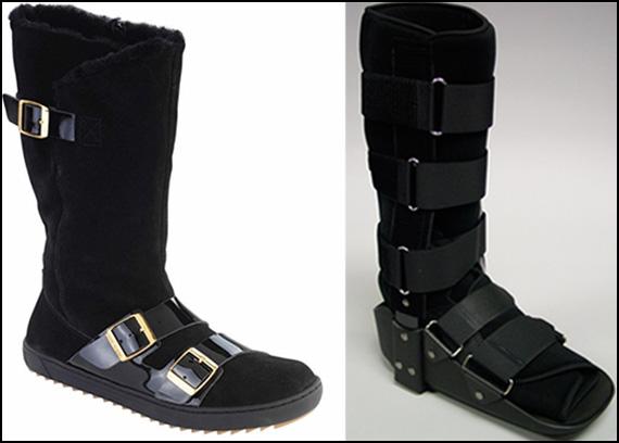Birkenstock foot boots