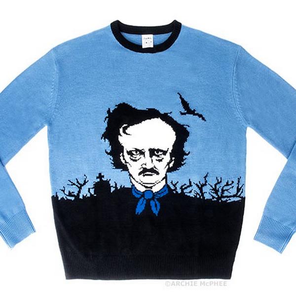 Edgar Allan Poe sweater
