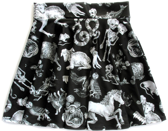 Freak of Nature skirt by Pretty Snake