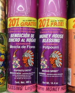 Money House Blessing spray