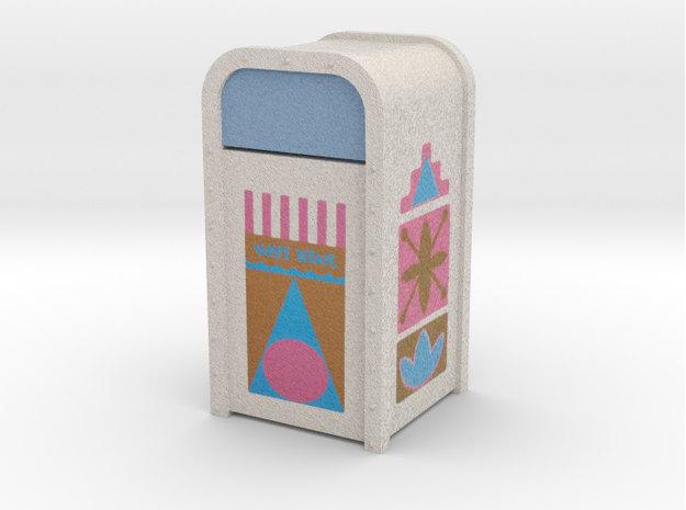 It's a Small World mini trash can :: Mary Blair