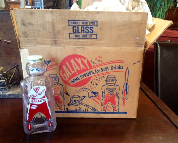 A box of Galaxy Home Syrups...for Soft Drinks, photo by Rusty Blazenhoff