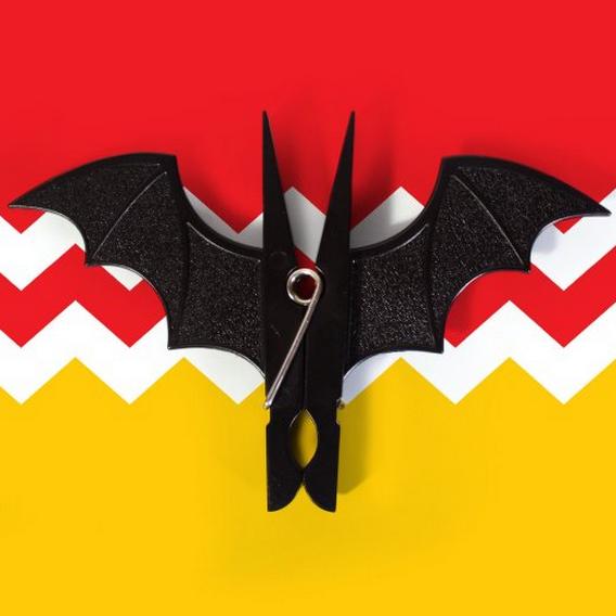 Bat Clothespins