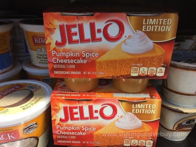 Jell-o pumpkin spice cheesecake snacks