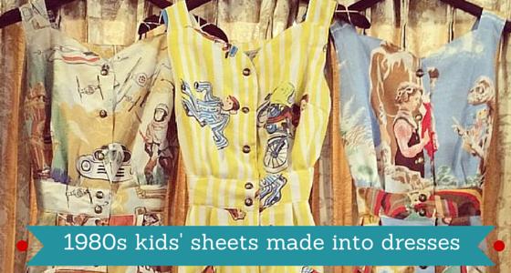 80s Sheet Dresses