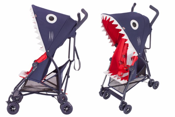 Shark stroller buggy