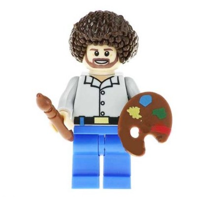 HAPPY LITTLE TREES DUDE MINIFIG
