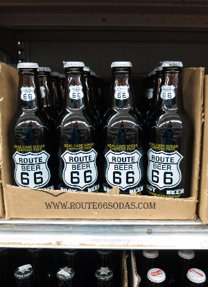 Route 66 Soda at Galco's Soda Pop Stop