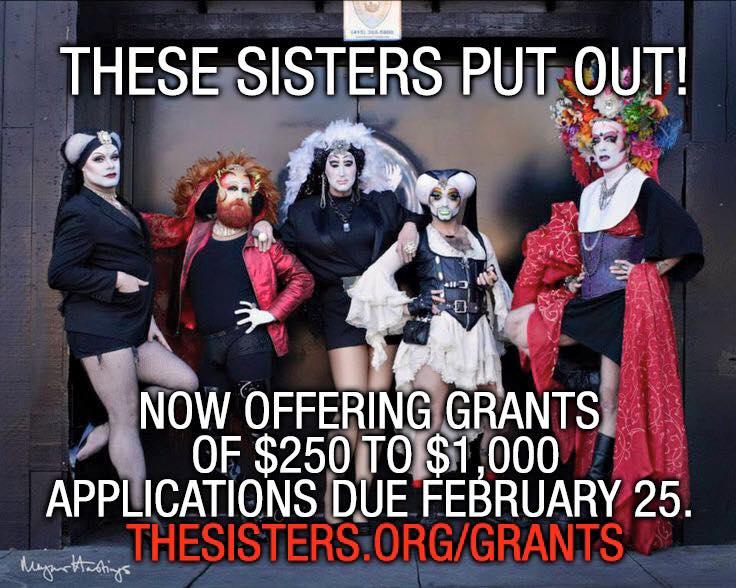 Sisters of Perpetual Indulgence grants