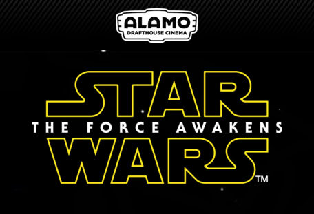 Star Wars: The Force Awakens at Alamo Drafthouse Cinema