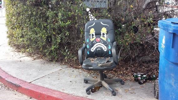 Sad Clown office chair