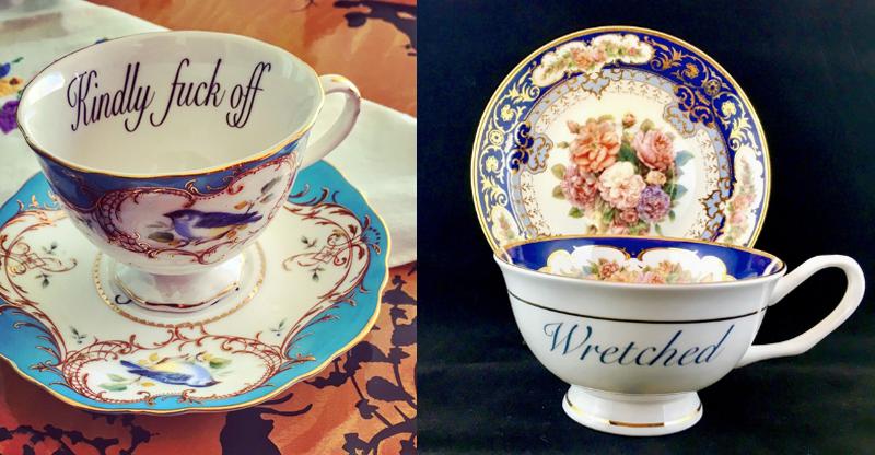Insult teacups