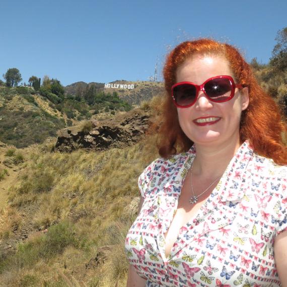 Rusty Blazenhoff in Hollywood near Bronson Caves