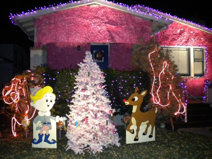 Christmas Tree Lane, Island of the Misfit Toys, Alameda
