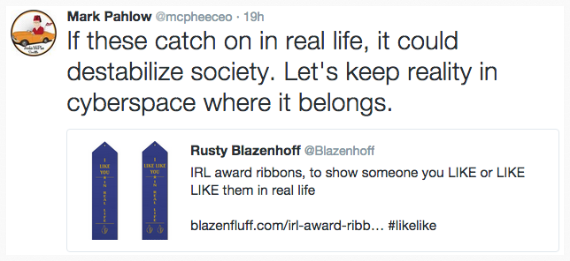 Mark Pahlow of Archie McPhee on IRL awards