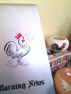 Morning cock, photo by Rusty Blazenhoff