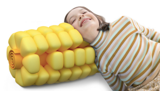 Sweet Corn Pillow by Jet Ong