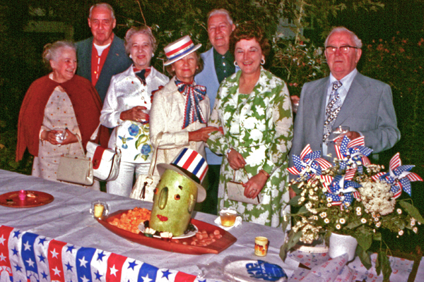 OG Uncle Watermelon, a vintage slide circa 1976 via Charles Phoenix