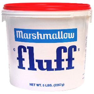5 lb tub of Marshmallow Fluff