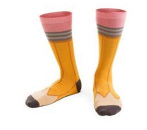 Ashi Dashi pencil socks