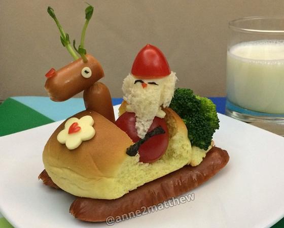 Food Santa by Anne Widya