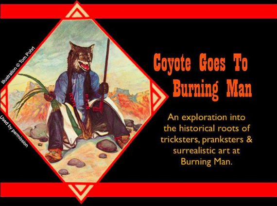 Coyote Goes to Burning Man