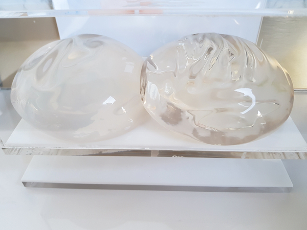 smooth breast implants