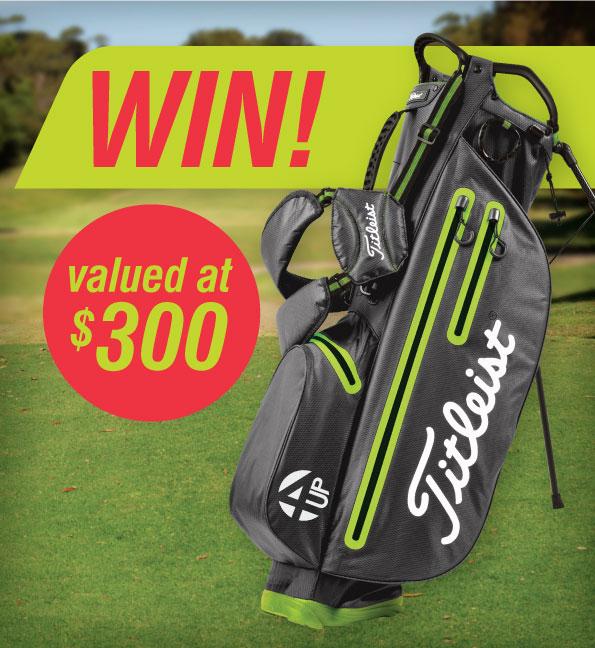 Titleist Golf Bag Competition at Mt Martha Golf Course Pro Shop
