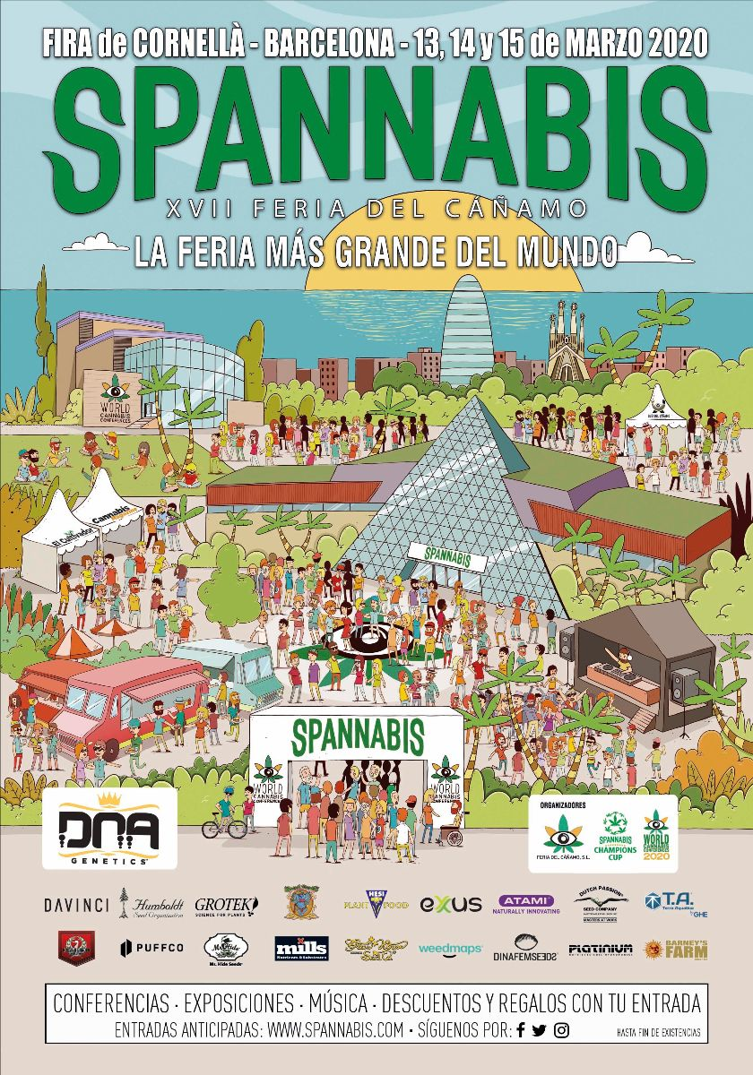 Spannabis2020_poster