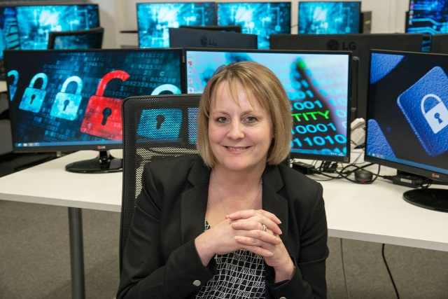 Debbie Tunstall National Cyber Skills Training Centre Manager