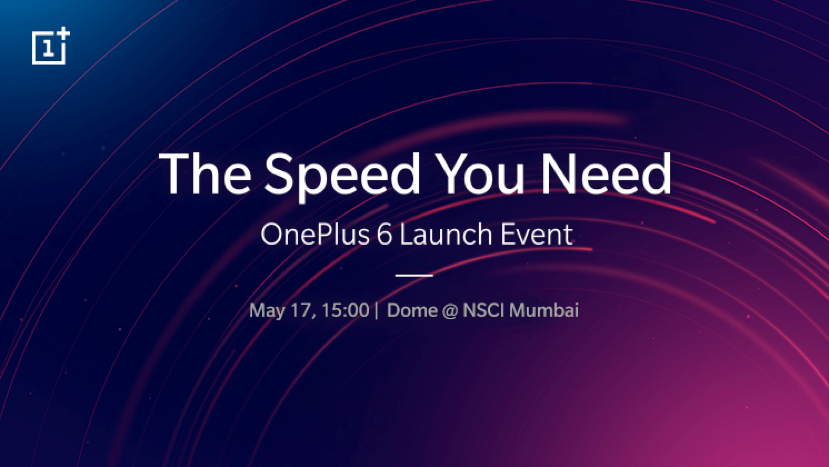 OnePlus 6 launch event invite
