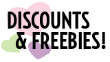 Discounts and Freebies!