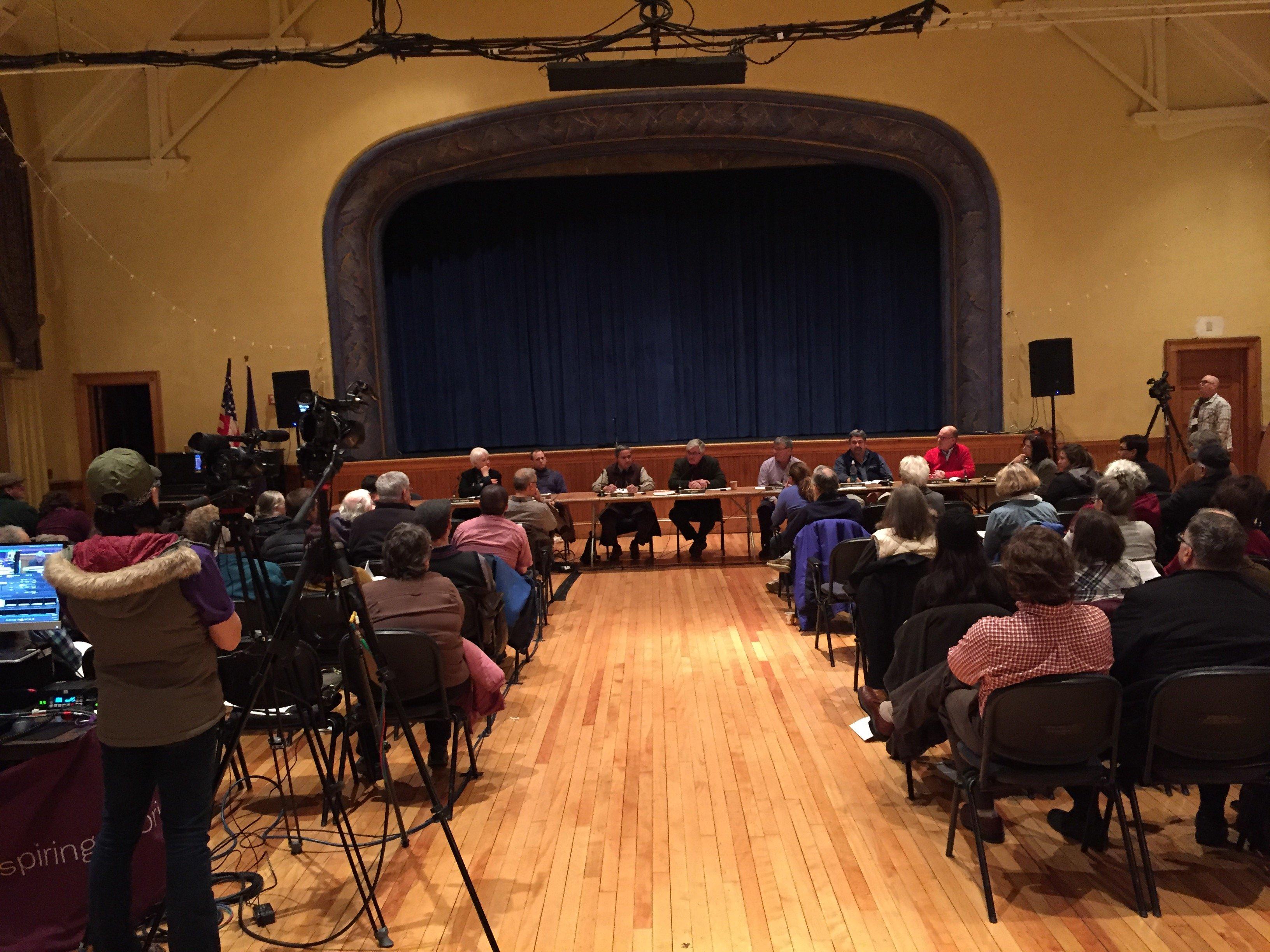 Vergennes Town Meeting 2016