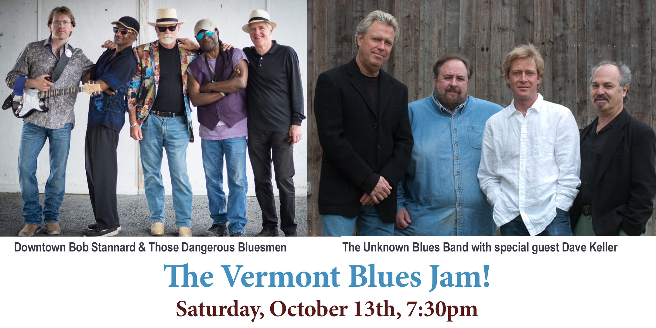 Vermont Blues Jam at the Vergennes Opera House
