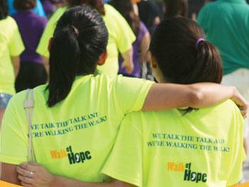 Walk of Hope Event