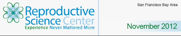Reproductive Science Center - Experience Never Mattered More - November 2012