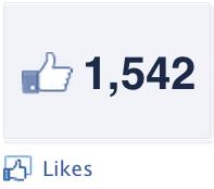 1,542 Likes on Facebook