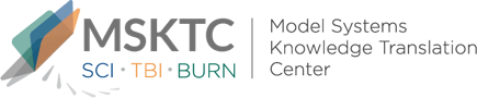 Logo for the MSKTC - Model Systems Knowledge Translation Center