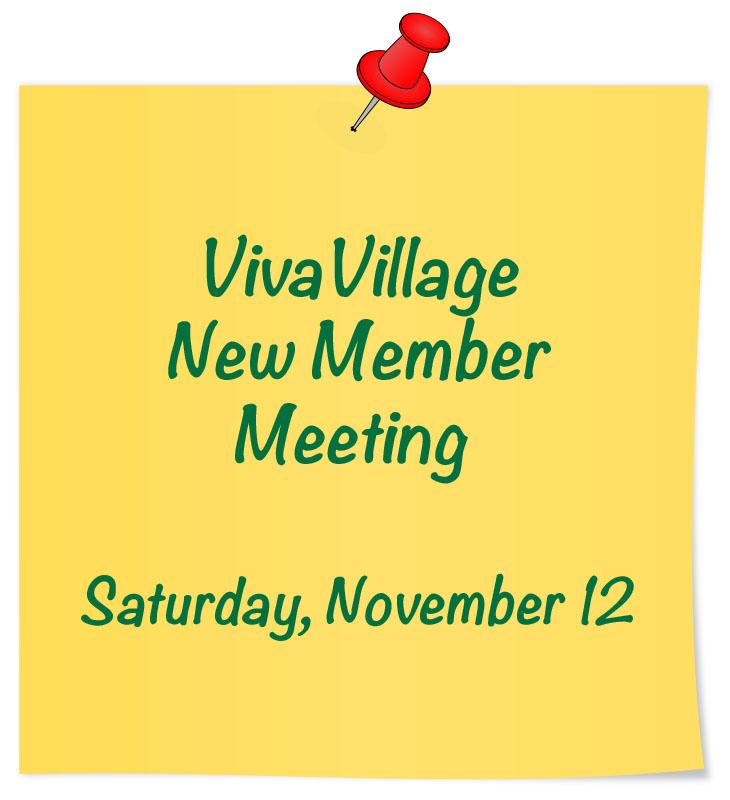 new member meeting