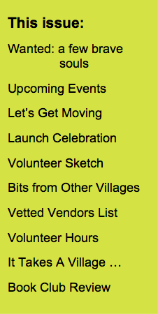 Newsletter Contents