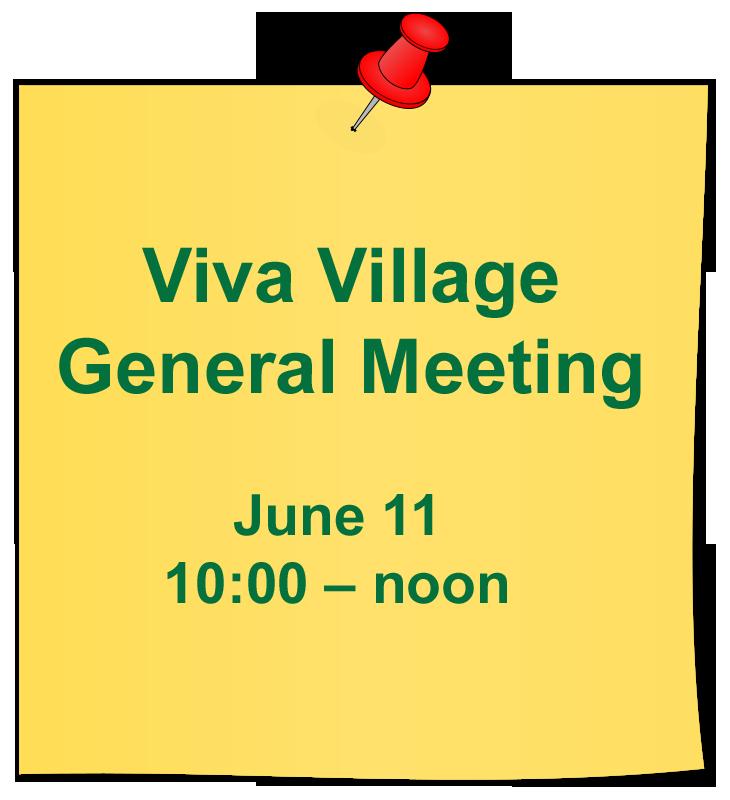 General Meeting reminder