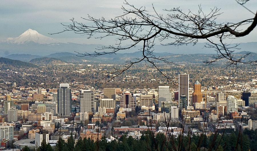 View from Pittock Mansino
