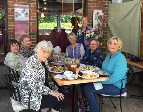 July lunch group
