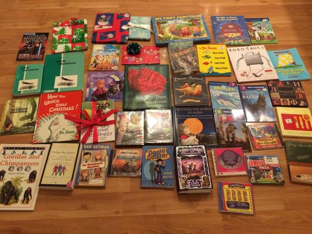 Donated Kids' books