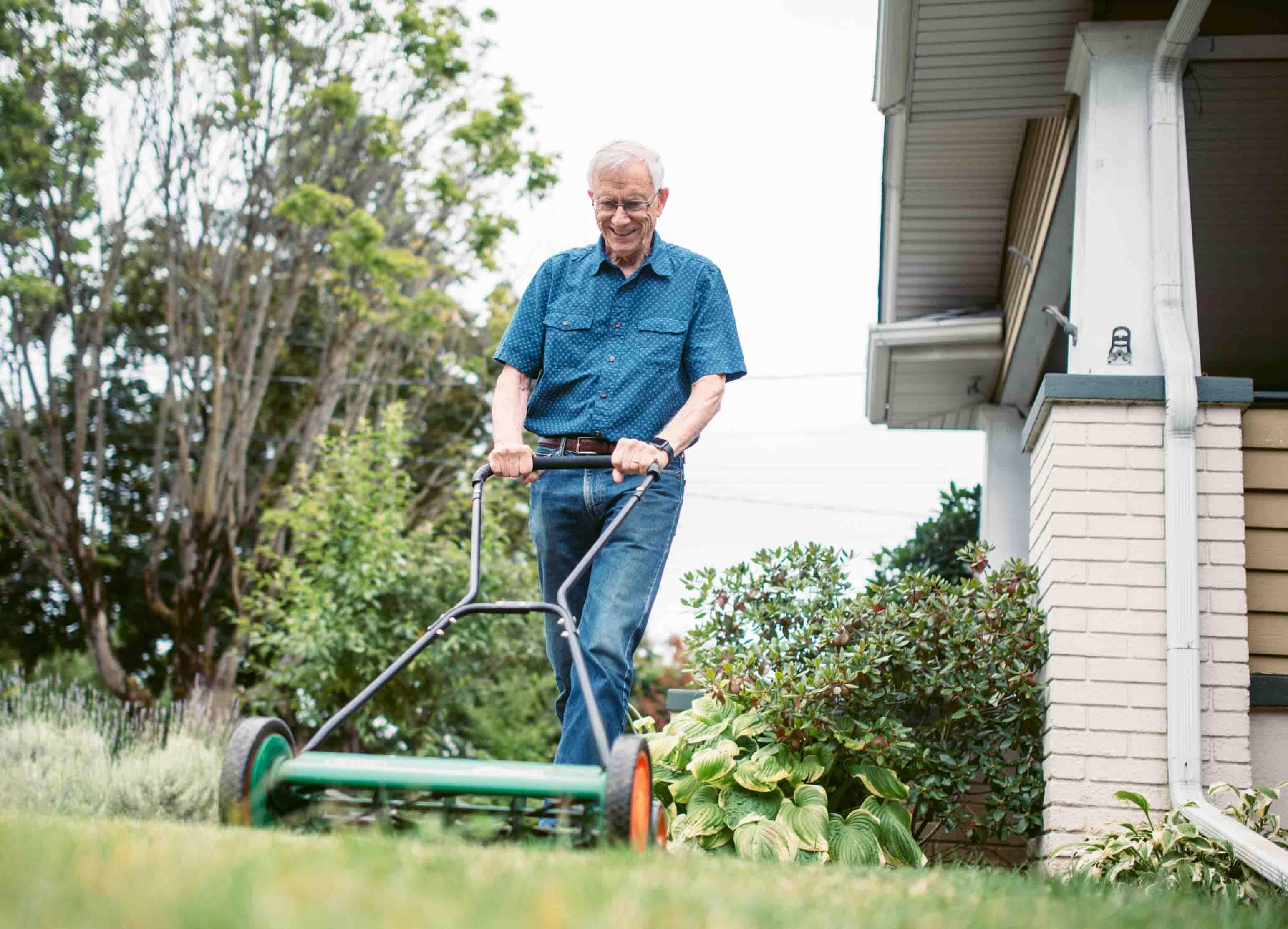 Volunteer Lawn Mowing