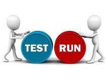 Test Run graphic