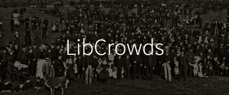 The LibCrowds blog banner