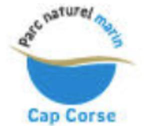 Logo Parc naturel marin cap corse