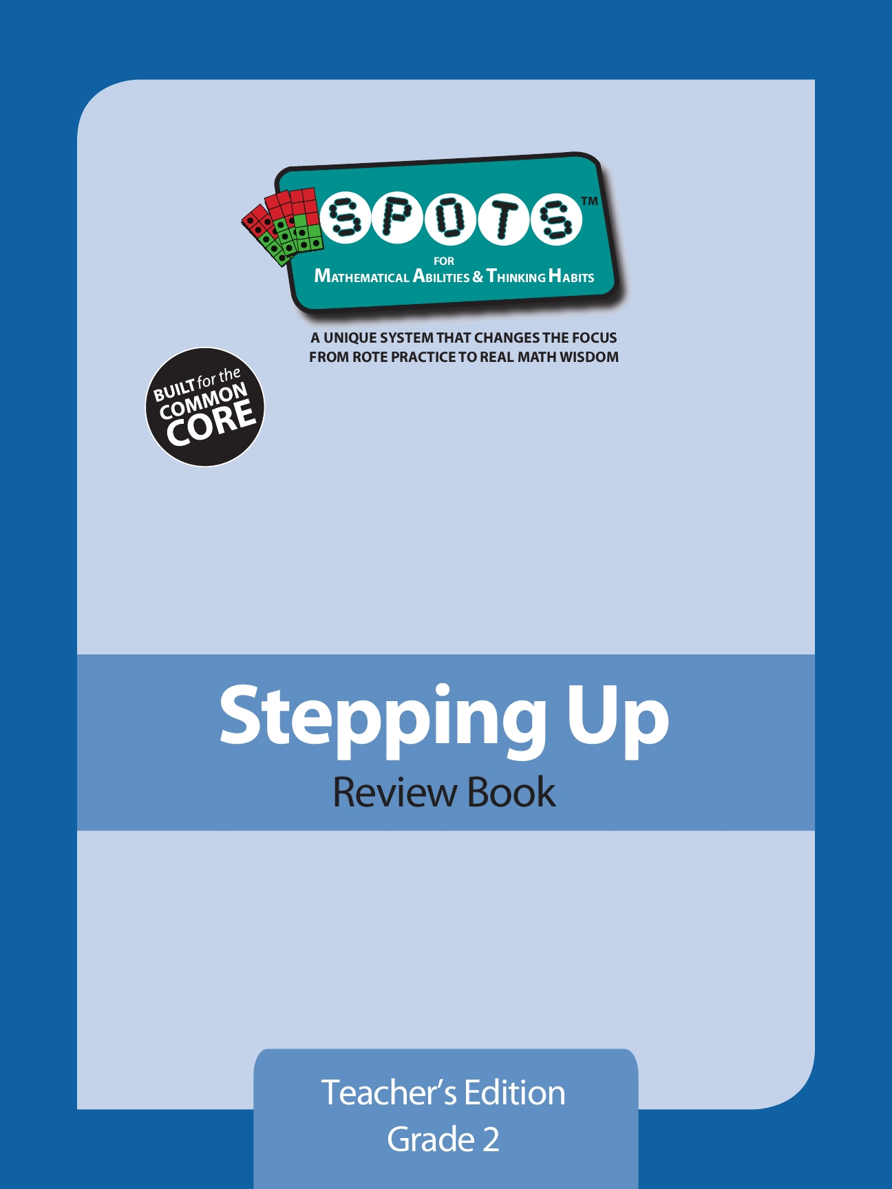 Stepping Up - Teacher's Edition Review Booklet: Grade 2